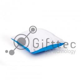 Подушка с наволочкой СИНЯЯ (поле под сублимацию 25х25см)