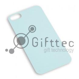 IPhone 4/4S - Вставка под сублимацию силиконового чехла СЕРЕБРО