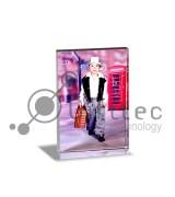 Фотокристалл УФ SJ05D - Призма вертикальная 80х60х20мм