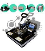 Термопресс Gifttec MASTER комбо 6 в 1, 30х38см, электронное управление 4 кнопки