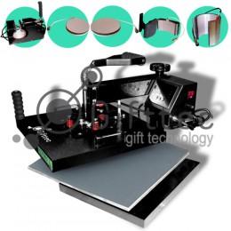 Термопресс Gifttec MASTER комбо 6 в 1, 38х38см, электронное управление WL-13D