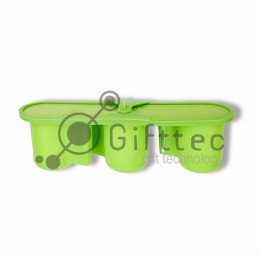 Пресс-форма на 3 стандартные/фигурные кружки (для 3D вакуумного термопресса, настольной)