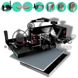 Термопресс Gifttec MASTER комбо 8 в 1, 38х38см, электронное управление WL-13D