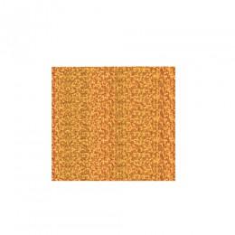 Термоплёнка Chemica metallic confetti для изделий из хлопка, п/э, акрила, конфетти, золотая, 50х100см