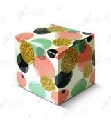 """Коробка подарочная для кружки без окна """"Розовые шары"""""""